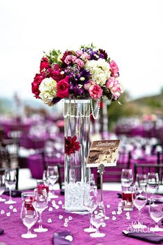Yes! Tall enough to be pretty but guests can still see each other, love the colors, the beads, and the diamond decorations on the table