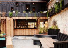 "Vencedores do ""Restaurant & Bar Design Award da Austrália e Pacífico: Howler (Austrália) / Splinter Society Architecture Design Bar Restaurant, Restaurant Plan, Brewery Design, Restaurant Concept, Restaurant Branding, Bar Architecture, Casa Bonay, Melbourne Bars, Bar Design Awards"