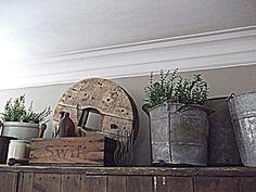 Rustic Farmhouse: Comforts of Home cabinets decor ideas top of Above Cupboard Decor, Top Of Cabinet Decor, Kitchen Window Decor, Decorating Above Kitchen Cabinets, Fridge Decor, Cabinet Top Decorating, Plant Ledge Decorating, Corner Cupboard, Country Farmhouse Decor