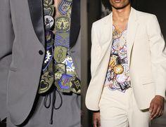 "Maison Martin Margiela - "" The Fashion Commentator "": Report: Paris Men's Fashion Week Spring summer 2013"