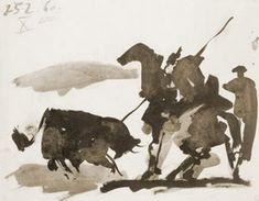 Pablo Picasso. Corrida X Scene, 1960
