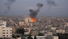 Israel Gaza attack pictures images 2014