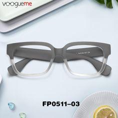 ddb7bbd98e Tyra Rectangle Dark Grey Eyeglasses FP0511-03