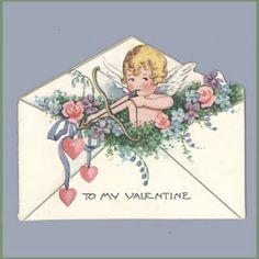 Vintage Valentine Museum: Angelic Love - Angels and Cupids
