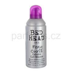 TIGI Bed Head Foxy Curls pěnové tužidlo pro vlnité vlasy Bed Head Foxy Curls, Mousse, Bottle, Hair, Curls, Flask, Moose, California Hair