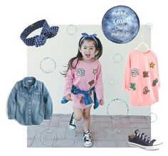"""""""Make Your Own Magic"""" by poepoepurses ❤ liked on Polyvore featuring Converse and J.Crew"""