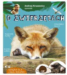 Andrzej Kruszewicz opowiada o zwierzętach - Multicobooks.pl Otter, Humor, Cats, Animals, Baby Books, Spur, Strand, Literatura, Wild Boar