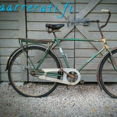 Vanha miesten pyörä, 50€, aarrerati.fi-verkkokauppa