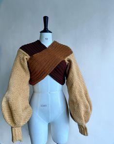 Crochet Fashion, Diy Fashion, Fashion Outfits, Crochet Clothes, Diy Clothes, Crochet Sweaters, Crochet Outfits, Pull Crochet, Cute Casual Outfits