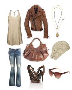 earth tones....leather...feelin it.