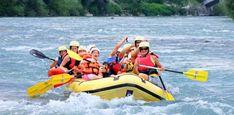 Summer vibes in Ljubljana: family rafting and kayaking on Sava rapids » Visit Ljubljana