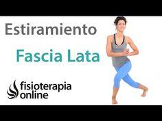 Estiramiento de tensor de la fascia lata. Fascia Lata, Pilates, Biceps Femoral, Natural Medicine, Alternative, Gym, Running, Workout, Fitness
