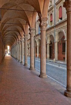 I portici di Bologna visti da Claudio Alba: Portico_di_San_Giacomo_1
