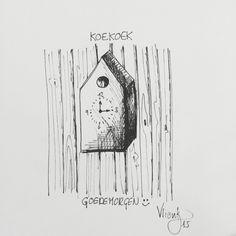 Simple. Clock. Drawing
