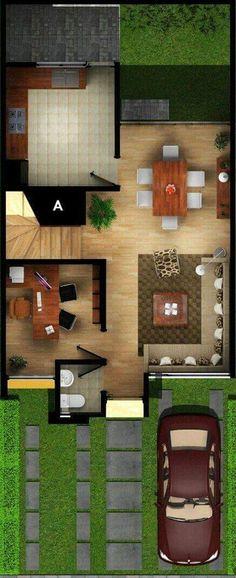 Casas dehisa