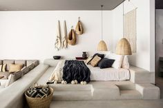 Corral Cushions - How To Use Baskets To Organize Everything - Photos