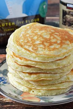 gluten free quick and easy morning pancakes