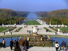 Versailles- Where the gardens are so huge, you can and probably will get lost.