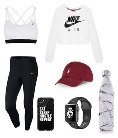 """Workout"" by virginia05 on Polyvore featuring NIKE, Casetify and S'well"