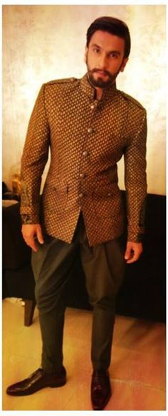 Ranveer Singh in Sabyasachi find more women fashion on www.misspool.com