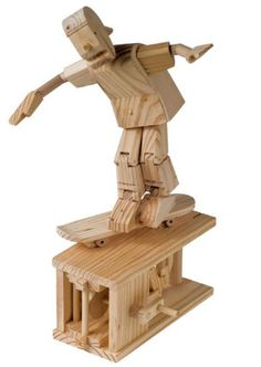 This is a great automation model Timber Kit. For other great craft kits and automation models to build and display visit the Hobbies website. Wood Logs, Timber Wood, Industrial Design Sketch, Automata, Woodworking Projects Plans, Craft Kits, Wooden Toys, Wood Projects, Skateboard
