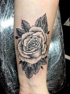 baby tattoos for moms 700661654516803754 - Dot work on a traditional style rose Source by footdeco Tattoo Femeninos, Yakuza Tattoo, Mom Tattoos, Hand Tattoos, Sleeve Tattoos, Tattoos For Guys, Tattoos For Women, Bodysuit Tattoos, Unique Tattoos