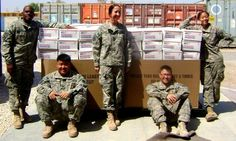 """...focusing on what matters -- saying """"thank you"""" to deployed troops..."""