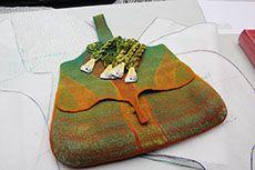 Masterclass Judit Pocs Wool Felt, Felted Wool, Master Class, Felted Bags, Handbags, Purses, Felting, Inspiration, Artists