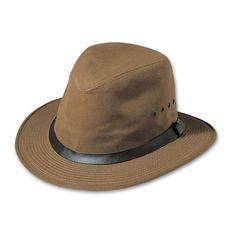 Filson SM Tan Tin Cloth Packer Hat 60015 Packers Hat 5ff4c7064