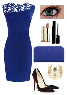 """Untitled #377"" by oned-rita3 ❤ liked on Polyvore featuring Christian Louboutin, Milani, Yves Saint Laurent, WithChic, Chanel, women's clothing, women's fashion, women, female and woman"