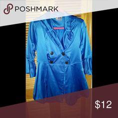 Satin Royal Blue Dress Jacket M Ashley by 26th international dress jacket. EUC. Very comfortable and elegant. Ashley by 26th international  Jackets & Coats Blazers