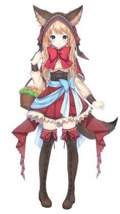 紅谷リア(@kureya_ria)さん | Twitter Anime Wolf Girl, Anime Girl Neko, Anime Girl Cute, Anime Art Girl, Kawaii Anime, Manga Girl, Lolis Anime, Chica Anime Manga, Female Character Design