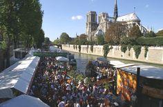 Les marchés flottants du sud-Ouest. Tous les ans en septembre, quai Montebello à Paris.