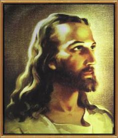 I grew up with this picture of Jesus on the wall at my parent's house.
