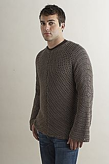 Circular Motion Sweater by Shiri Mor  Published in Lion Brand Yarn Online Patterns