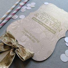 Wedding Program Fan - Order of Service Programme Fan - Bloom Wedding Range. $5.67, via Etsy.