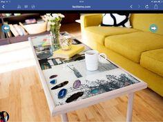 Mesa con fotos