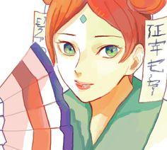 *o* it's lady mito! Sasuke X Naruto, Naruto Girls, Anime Naruto, Madara Uchiha, Naruto Shippuden Anime, Clan Uzumaki, Uzumaki Family, Naruto Family, Naruto Fan Art