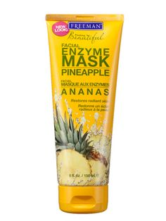 An exfoliating alpha hydroxy acid mask once a week creates a glow; follow it with a basic moisturizer to avoid irritation. Francesca Fusco, a dermatologist in New York City, likes Freeman facial masks, such as Feeling Beautiful Pineapple Facial Enzyme Mask, $3.99, which is a steal.