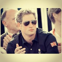 Prince Harry. You can't tell me you don't want him to be Dirty Harry for you. YUM.