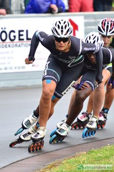Manon Kamminga (Netherlands) overall winner of the Gross Gerau rollerspeed competition 2015 in the senior ladies category ©skatingsisters Inline Speed Skates, Skating, Mtb, Netherlands, Competition, Overalls, Action, Concept, Draw