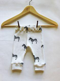 Baby+Leggings+Black+&+White+Zebra+Thermal++Made+by+DreamElephant,+$14.00