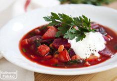 Barszcz ukraiński light [PRZEPIS] Thai Red Curry, Cooking, Ethnic Recipes, Diet, Kitchen, Brewing, Cuisine, Cook