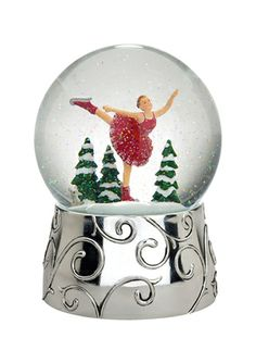 REED & BARTON Winter Magic Snow Globe