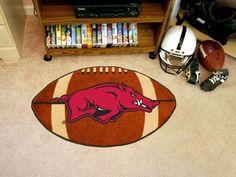 Arkansas Razorbacks Football Mat