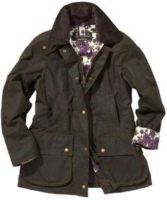 Barbour women's waxed jacket