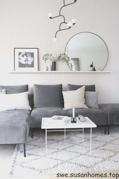 Attractive Living Room Wall Decor Ideas To Copy Asap fine The Nuiances of Attractive Living Room Wall Decor Ideas To Copy Asap By this time, you already understand what you will be storing on the shelves. Living Room Grey, Home Living Room, Interior Design Living Room, Living Room Designs, Living Room Decor, Charcoal Sofa Living Room, Living Room Apartment, Male Apartment, Interior Livingroom
