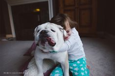A Young Girl Who's Best Friends with an English Bulldog - My Modern Metropolis