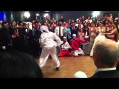 Most awesome Lebanese wedding entrance! - YouTube
