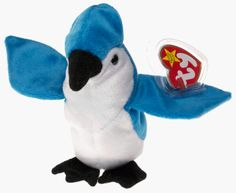 Stuffed Animal: TY Beanie Baby  ROCKET the BlueJay Bird >>> Want additional info? Click on the image.